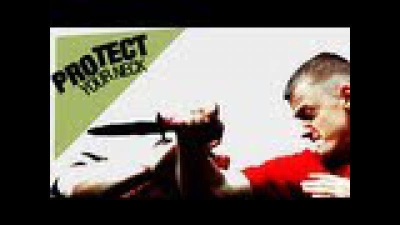 Messerverteidigung Abwehr von Stichwaffen Protect Your Neck