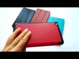 ОБЗОР: Оригинальный кожаный чехол для Asus Fonepad 7 Fe171CG (2 - SIM карты)