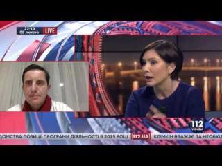 Елена Бондаренко vs Зорян Шкиряк: Словесная перепалка в прямом эфире
