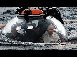 Президент ушел под воду! Президент Путин на дне Черного моря!