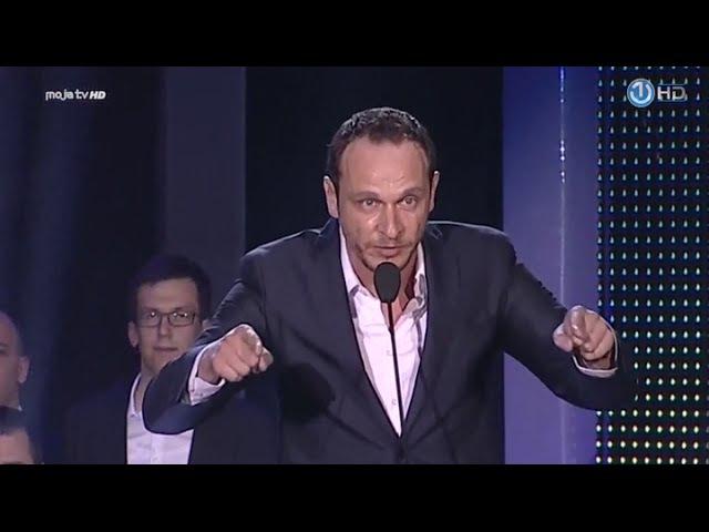 Enis Bešlagić emotivni govor - Da više nikada rata ne bude (Večernjakov pečat)