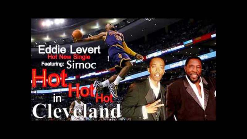 Eddie Levert and Sirnoc Hot Hot Hot in Cleveland