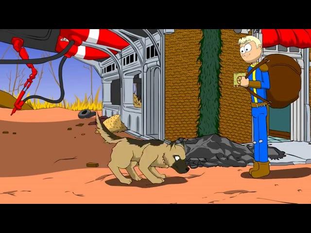Типичный Fallout 4 ( Мульт пародия \ Cartoon Parody )