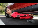 Reaching New Lows: Record Breaker Limbos Under Car