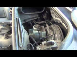 БМВ-7 ( Е65/66 ) Предупреждение износа колодок + доливаем тормозную жидкость