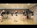 AOA - Like a Cat - mirrored dance practice video - Ace of Angels - 에이오에이 사뿐사뿐