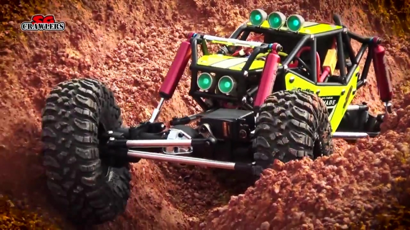 Gmade R1 Axial SCX10 Jeep Wrangler RCModelex Defender 110 RC Offroad Trails