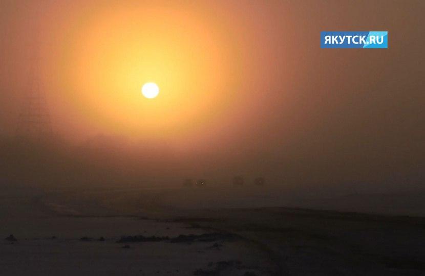Открыта ледовая переправа Якутск-Нижний-Бестях