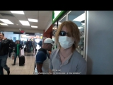 Руки , Рейта и смешные очки (the GazettE , World tour documentary)