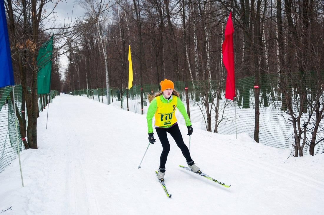 В Москве открылась всепогодная лыжня