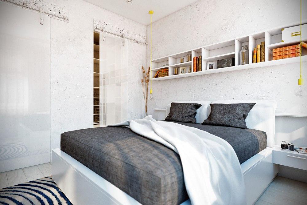 Концепт квартиры-студии 25 м.