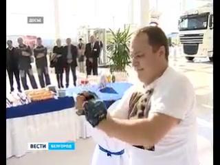 Денис Васильченко сдвинул с места 16-тонный Як-40