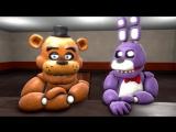 Five Nights At Freddys 3 [SFM] - СЪЕМКИ FNAF 3_ИСТОРИЯ СПРИНГТРАПА - 5 ночей у Фредди ( 1080p )