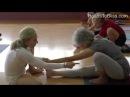 Marichyasana 1 Bakasana with Carrie Owerko Iyengar Yoga Principles 5 YouTube