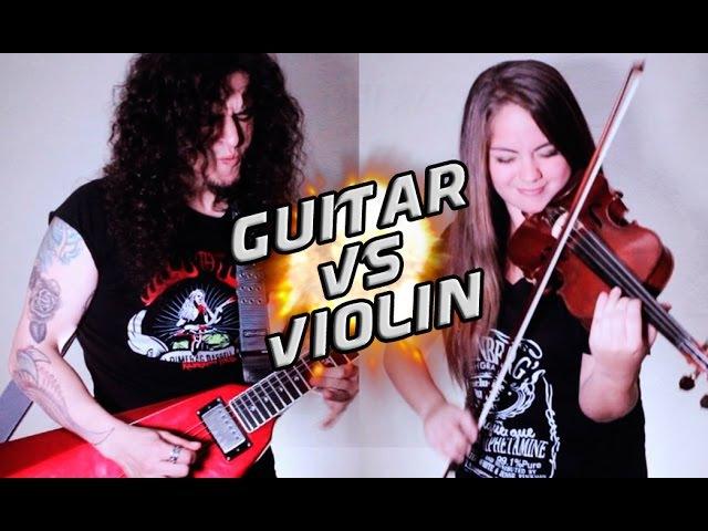 Guitar VS Violin - A heavy metal battle