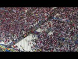 Евро-2016. Англия - Россия. Драки и беспорядки на стадионе после матча