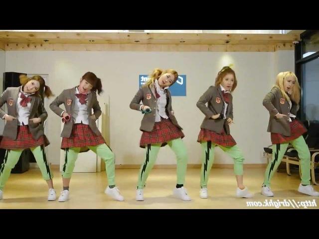 Crayon Pop - Bing Bing Remix mirrored Dance Fancams-