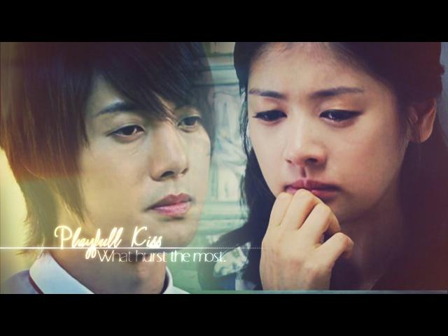 PLAYFUL KISS ~ 𝓌𝒽𝒶𝓉 𝒽𝓊𝓇𝓉𝓈 𝓉𝒽𝑒 𝓂𝑜𝓈𝓉 { Seung Jo × Ha Ni