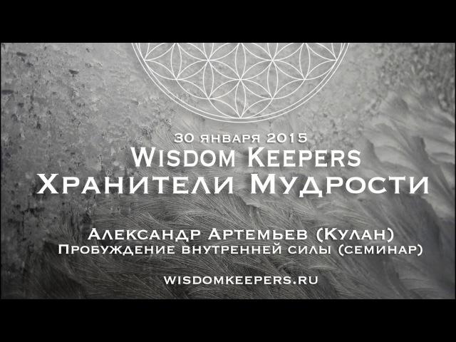 Александр Артемьев (Кулан) - семинар 30.01.16