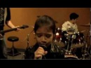 Led Zeppelin - Rock Roll Cover by 9 Year Old Female Rock Singer Sara Motion Device