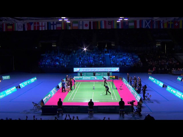 Badminton - Durkin / Vislova vs Labar / Lefel (XD, Final) - Scottish Open 2015