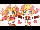 Kagamine Rin and Len - Electric Angel VOCALOIDS