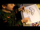 Как научить ребёнка читать. Как заниматься по раскраскам к мультикам