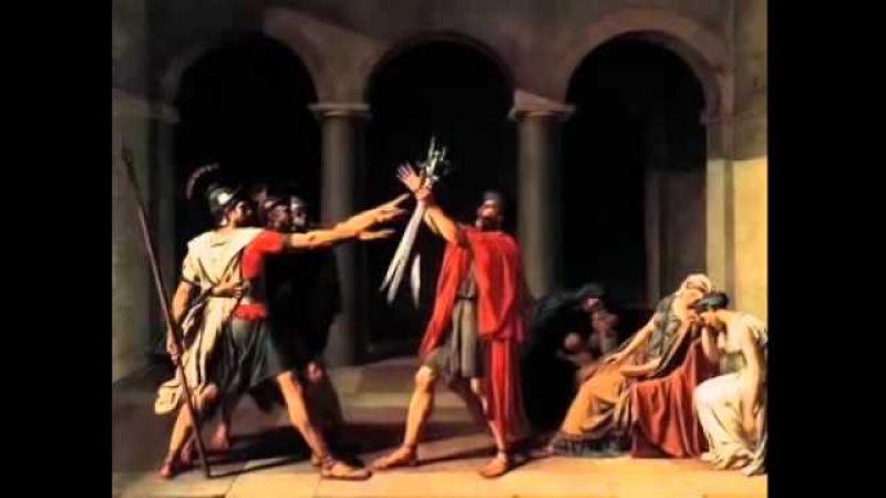 Давид, Клятва Горациев