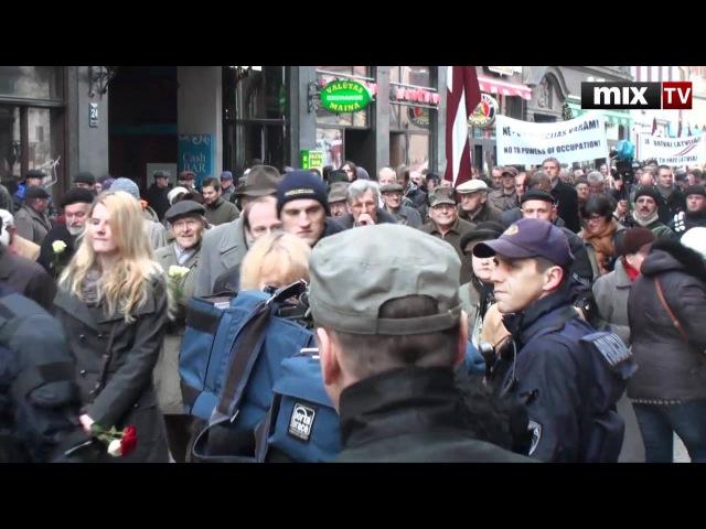 Шествие легионеров под Прощание Славянки Mix TV