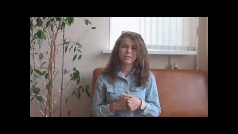 Рябчикова Ольга - выпускница РКУ Золотой Запас 2015-2016