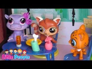 Мои петшопы. Сериал петшопы.Моя коллекция петшопов.Игрушки для детей. Чаепитие.