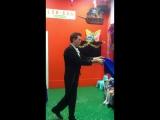 Фокусы в детском клубе БелиБам