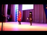 Культурный русско-адыгский обмен. Показ черкесского танца на конкурсе