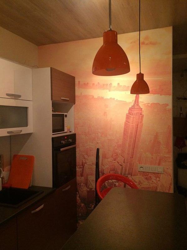 Интерьер квартиры-студии 35 м в Красногорске.