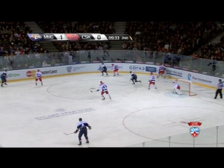 Металлург Мг - ЦСКА 1:3 (КХЛ ТВ, 03.02.2016)