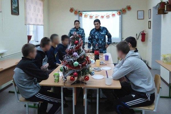 В СИЗО №1 поздравили с Новым годом несовершеннолетних, содержащихся под стражей