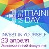 День Тренингов МГУ 23 апреля 2016