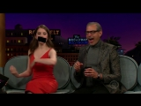 Talking Profane with Anna Kendrick, Jeff Goldblum and James Corden