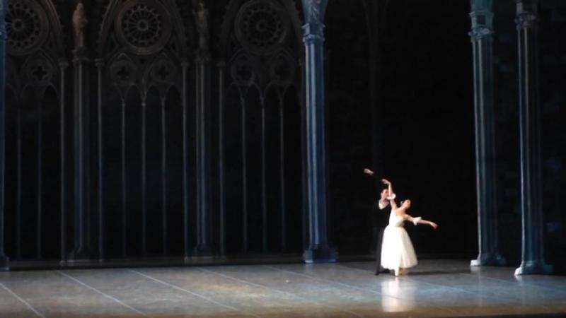 Pas-de-de из балета Жизель; (отчётно-выпускной концерт СХУ - 22.05.2016).