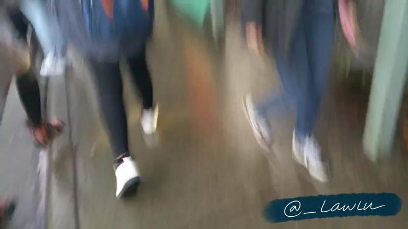 FANCAM | 160106 | Hoya @ YVR Airport