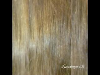полировка волос для Анны. на волнистые волосы