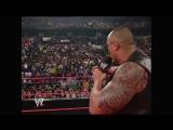 Raw The Rock vs. Goldberg, 31.03.2003 г.