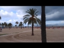 О . Майорка .Пляж,пасмурно