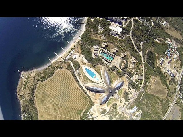 Mriya Resort Rixos Crimea w/Phantom2 Zenmuse H3-3D GoPro 3 BE