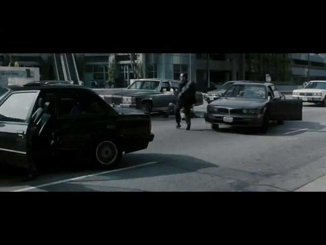 Фрагмент ограбления банка Схватка(1995)