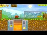 Мультик игра для детей Улитка Боб 2  - идет на день рождения к дедушки