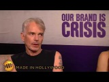 """Sandra Bullock and Billy Bob Thornton """"Our Brand Is Crisis"""" UNCUT Interview"""