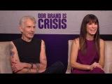 Billy Bob Thornton & Sandra Bullock - Our Brand Is Crisis Interview HD