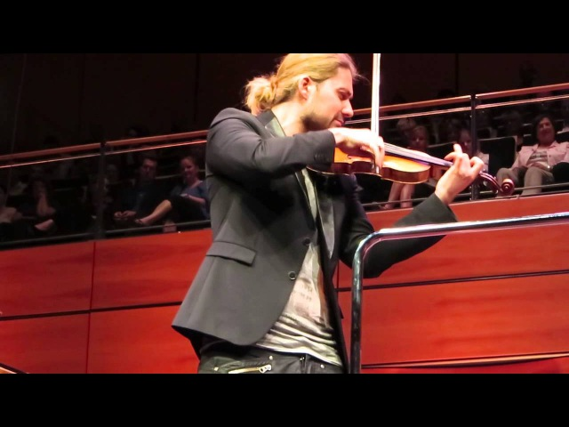 David Garrett - Caprice No. 24 - Paganini - Lübeck 25.05.14