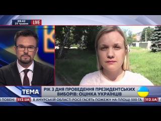 Год президентства Петра Порошенко. Оценка жителей Днепропетровска